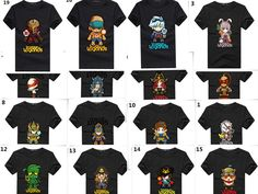 CuteGraphic T-shirt LOL League of Legends Characters Clothes 60Styles available | eBay