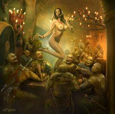 The Feast by alserov