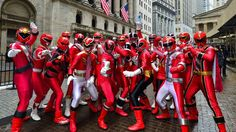 Red rangers at work!!!