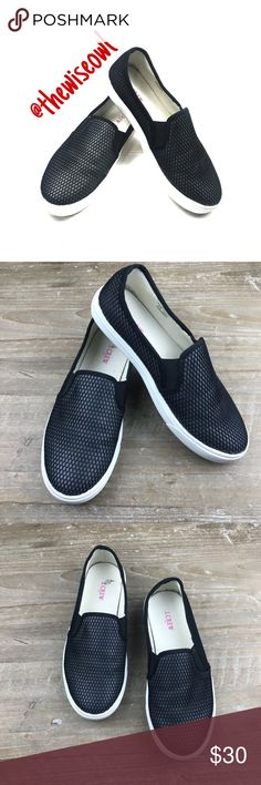 8d27b830879 J.Crew Fish Net slip on shoes size 6 J.Crew Fish Net slip