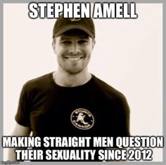So it begins -- Stephen Amell #MemeMonday