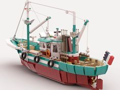 This will become a REAL Lego set with your help! We need your vote on Lego Ideas! Link in description This will become a REAL Lego set with your help! Go suppor… Lego Creator Sets, Lego Technic, Lego Sets, Lego City Sets, Lego Boot, Lego Videos, Lego Pictures, Lego Christmas, Fishing Boats