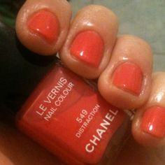 Chanel Distraction Nail Enamel...love this color