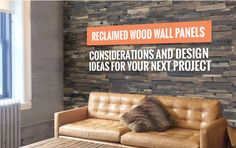 reclaimed wood panels for walls Reclaimed Wood Wall Panels, Wood Panel Walls, Interior, Design, Home Decor, Decoration Home, Indoor, Room Decor
