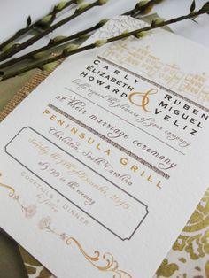 Charleston Wedding invite