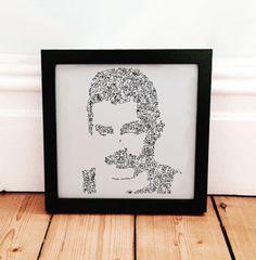 Freddie Mercury poster - Queen - Fine Art Print - Biography in a Portrait…