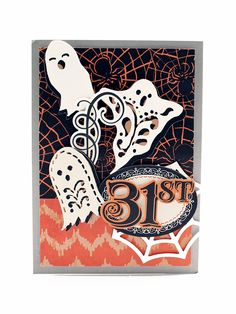 Aug. 2016- Halloween Die Cuts and Papers.