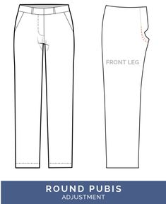 Sewing Clothes Patterns Shorten Crotch Adjustment - crotch too long // Pants Fitting Adjustments // Closet Case Patterns - The best tips for pants fitting! Get our in-depth instructions to diagnose and correct 16 common pants fitting adjustments Simplicity Sewing Patterns, Sewing Patterns Free, Free Sewing, Clothing Patterns, Sewing Tips, Sewing Projects, Shirt Patterns, Dress Patterns, Sewing Men