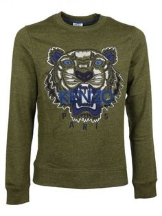 KENZO Kenzo Tiger Sweater. #kenzo #cloth #fleeces-tracksuits