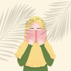 Muslim Pictures, Ramadan Background, Hijab Drawing, Doodle Girl, Islamic Cartoon, Anime Muslim, Hijab Cartoon, Profile Picture For Girls, Islamic Girl