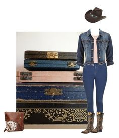 """""""Cowgirl time"""" by texaspinkfox ❤ liked on Polyvore featuring moda, Topshop, Zara, Circle G y maurices"""