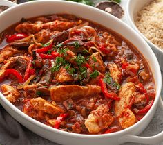 Batch Cooking, Cooking Recipes, Chicken Marengo, Quick Healthy Breakfast, Healthy Dinner Recipes, Italian Recipes, Chicken Recipes, Healthy Eating, Healthy Food