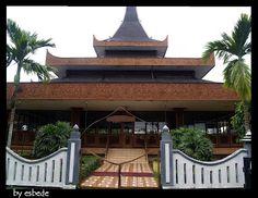 15.Province DI Yogyakarta Indonesia -Bangsal Kencono house - Joglo house