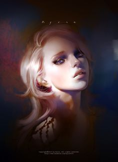 Gorgeous Digital Portrait Painting By Kyrie