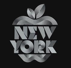 NY lettering by Trochut
