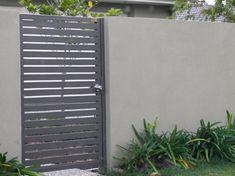 rendered block fencing