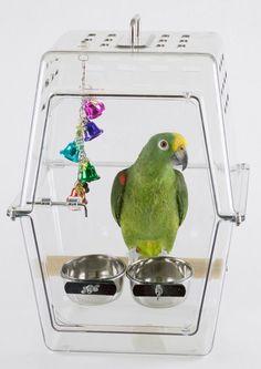 Wingabago Bird Carrier, Regular - BirdSupplies.com