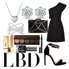 """LBD"" by pandapotter26 ❤ liked on Polyvore featuring Whistles, Links of London, Effy Jewelry and Smith & Cult"
