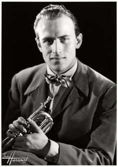 Boris Vian (1920-1959) - French polymath: writer, poet, musician, singer, translator, critic, actor, inventor and engineer. Photo by Studio Harcourt