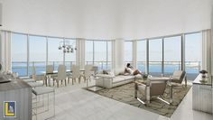Reserve your unit today and enjoy infinite views of #BiscayneBay at #Aria. http://laugerealty.com/aria #edgewater #miami