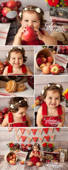 Apple pie smash photo shoot