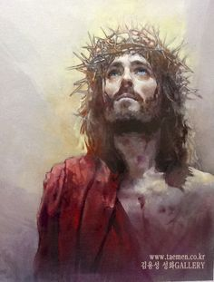 "spiritually powerful art ""This art work by Yongsung Kim is remarkable! I can see his faith transmitted onto canvas through his delicate brush strokes and selective views of Christ and His lif…"