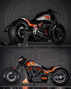 Chopper Et Rondo Custom Motorcycle Paint Jobs, Harley Davidson Custom Bike, Harley Davidson Motorcycles, Custom Street Bikes, Custom Bikes, Dragster, Vw Vintage, Cafe Bike, Harley Bikes