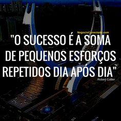 """Citação: """"O sucesso é..."""""""