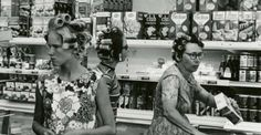 Most of us spend at least30-45 minutes or so every week at a grocery store -the same grocery store, typically -meaning we spend more time there than almost anywhere that's not work or home. That's why old photos of grocery stores spark such intense nostalgia: seeing how grocery st...
