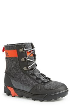 Free shipping and returns on adidas 'Felt' Snow Boot (Men) at Nordstrom.com. Durable Italian felt forms a water-resistant boot featuring a TRAXION™ sole for reliable grip on icy surfaces and climaheat™ insulation for warmth.