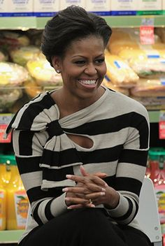 Michelle Obama... can she be anymore luminous then she already is? Pure inspiration