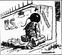 19 best political cartoons during the 1920s images political White Man's Burden Cartoon 1920 american cartoon arguing that immigration is undesirable this cartoon therefore represents the powerful nativist anti immigration ideas gaining