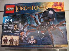 New Lego Lord of the Rings Shelobs Attacks 9470 Legos, Samwise Gamgee, Toy People, Shops, Buy Lego, Lego News, My Collection, Building Toys, Lord Of The Rings