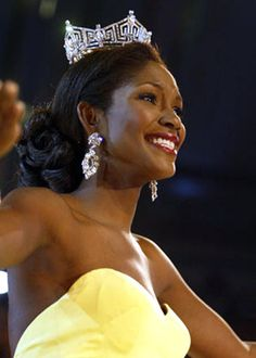 Ericka Dunlap (born December 29, 1981) was Miss America 2004, and was the first African American woman to be crowned Miss Florida. Description from coolspotters.com. I searched for this on bing.com/images