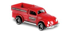 View details and collect the Hot Wheels Volkswagen Beetle Pickup racecar in Red. Part of the VOLKSWAGEN series. Hudson Hornet, Pickup Car, Vw Group, Collector Cars, Pick Up, Beetle, Hot Wheels, Diecast, Race Cars