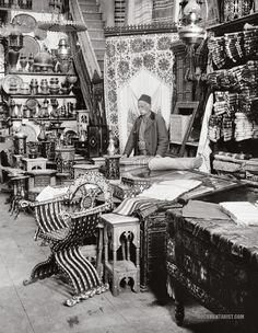 shop of damascus wares c 1900 1920