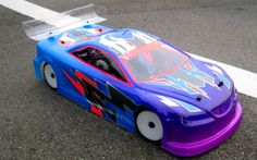 RC Car Paint Jobs | One of my favorite paint jobs for a friend: