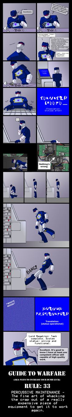 GTW: Rule 33 by Shy-Light.deviantart.com on @deviantART. I like this method! xD Soundwave is Superior!