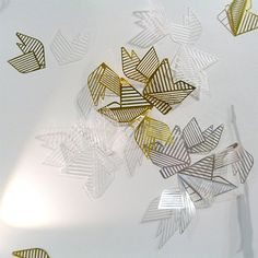 Leaves by Alessandra Meacci, Salone Satellite 2013