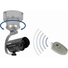 Security Man Remote Control Pan Base for security camera
