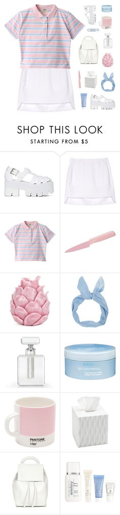 """""""the last hoorah"""" by melancholiam ❤ liked on Polyvore featuring Jeffrey Campbell, Neil Barrett, Kuhn Rikon, Zara Home, Aveda, W2 Products, Roselli Trading, Topshop and Sisley"""