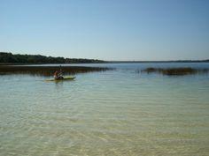 Laguna Blanca en San Pedro: comprende un establecimiento agrícola-ganadero y turístico, con un lago que tiene la particularidad de estar asentado sobre arena calcárea lo cual hace que sea totalmente transparente, y que cualquiera, con elementos de buceo pueda ver claramente los peces y plantas incluso en los sitios de más de siete metros de profundidad. Es considerado el único lago natural del Paraguay.
