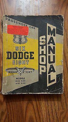 Pinterest the worlds catalog of ideas rare vintage serice shop manual dodge passenger car six eight 1952 chrysler fandeluxe Gallery