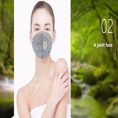 20Pcs Heal Force HF-K5-2 PM2.5 Disposable Respirator Mask Folding Protective Valved Masks at Banggood