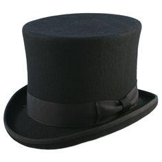 Quality Hand Made Black High Top Hat Topper Hat Wedding Hat 6 Sizes Steampunk, Wedding Hats, Frack, Hats For Men, High Tops, Vintage, Black Pattern, Handmade Shop, Men's Accessories