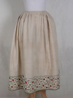 Petticoat. England, 1750. Cotton and wool. From the Killerton, Devon collection (National Trust): 1361215