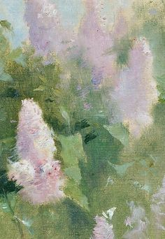 Emil Carlsen Study of Lilacs in Bloom 20th century