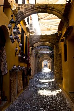 elladaa: Old town, Rhodes Island, Greece Art Architecture