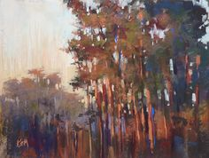 'Morning Magic'   9x12 pastel         ©Karen Margulis - Painting My World: Behind the Scenes: Painting From a Very Bad Photo