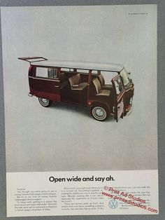 Awesome Volkswagen 2017: 1967 Volkswagen Station Wagon Print Ad  VW Van  by PrintAdStudios...  Vintage VW - Volkswagen Advertising from the 60s and 70s Check more at http://carsboard.pro/2017/2017/03/21/volkswagen-2017-1967-volkswagen-station-wagon-print-ad-vw-van-by-printadstudios-vintage-vw-volkswagen-advertising-from-the-60s-and-70s/